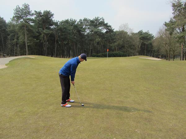 golfbaan prise d'eau
