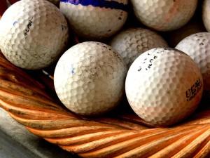 Golfballen: Lake balls