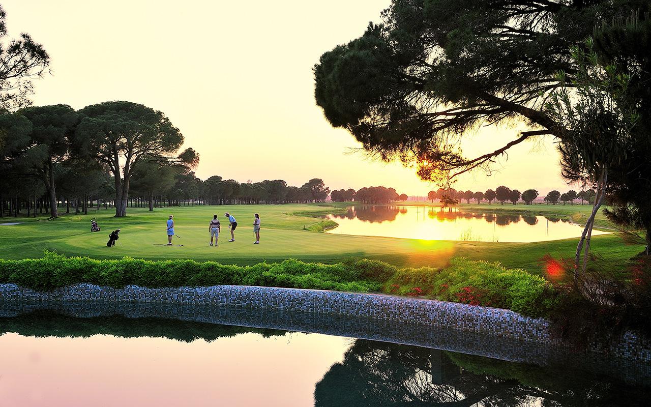 Golfreizen Turkije