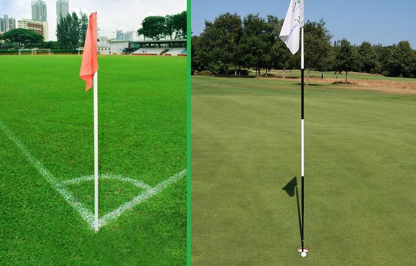 golf voetbal