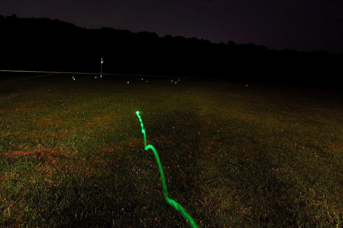 golfbal licht