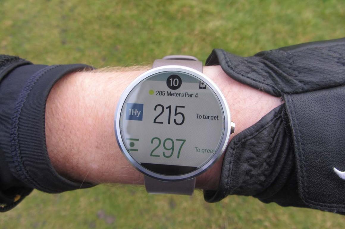 Moto 360 golf