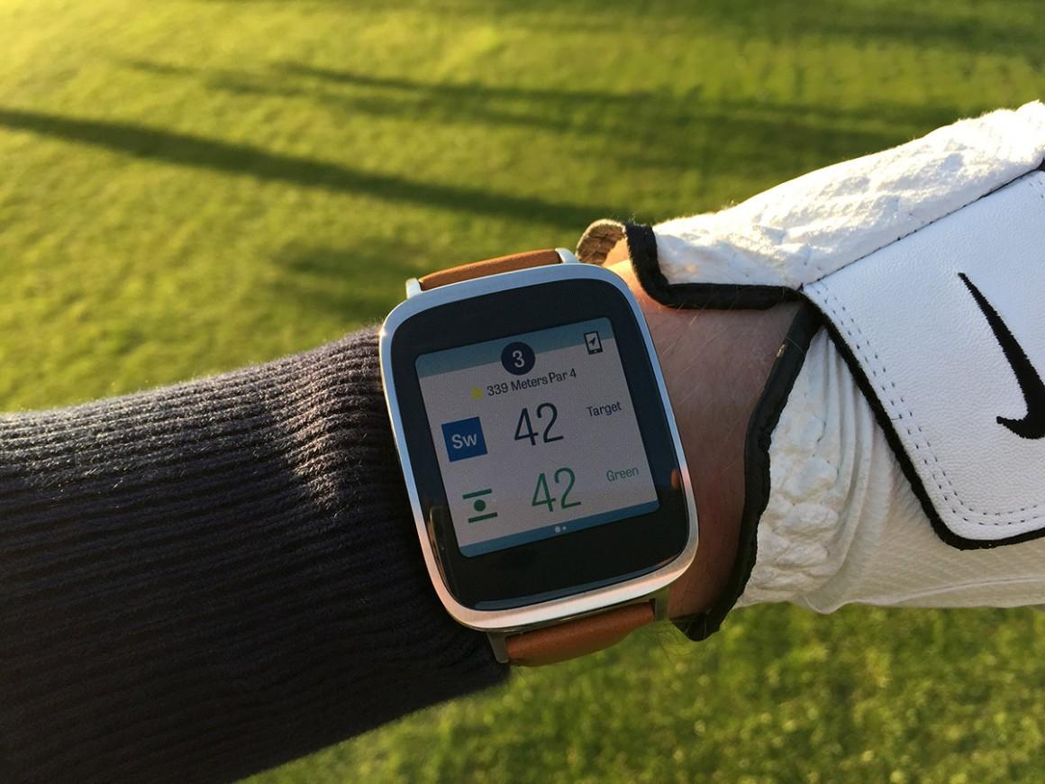 Asus Zenwatch Golfshot