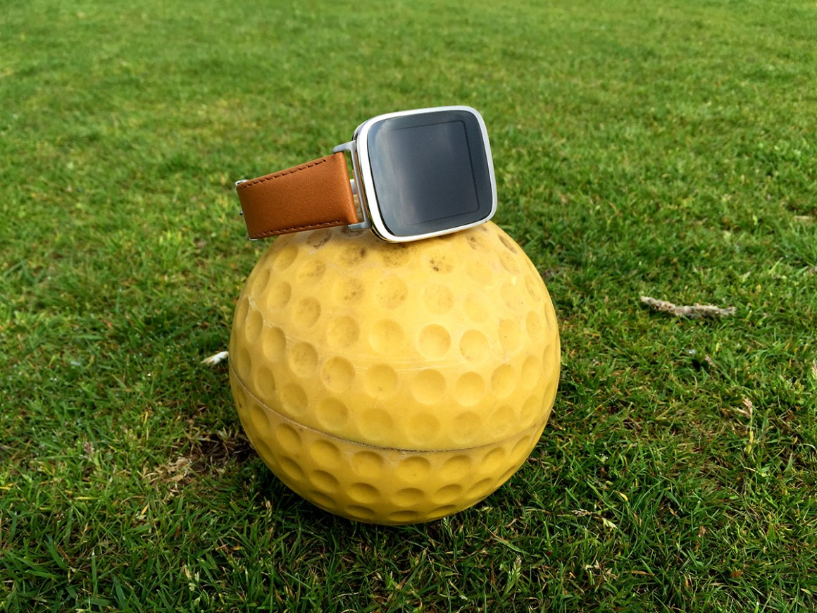 Asus zenwatch golf gps
