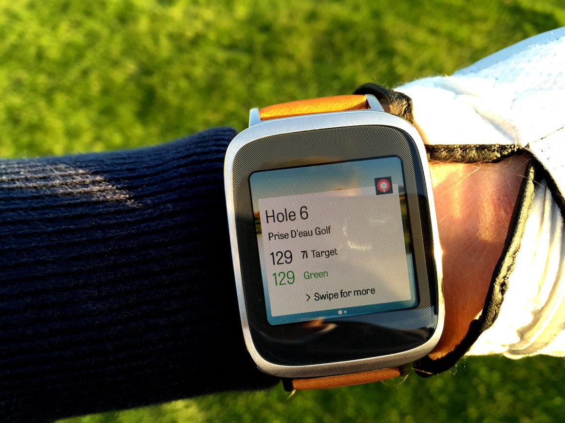Asus zenwatch golf 4
