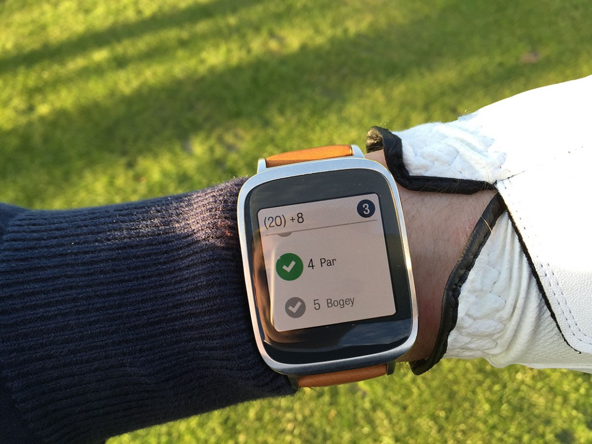 Asus zenwatch golf 7