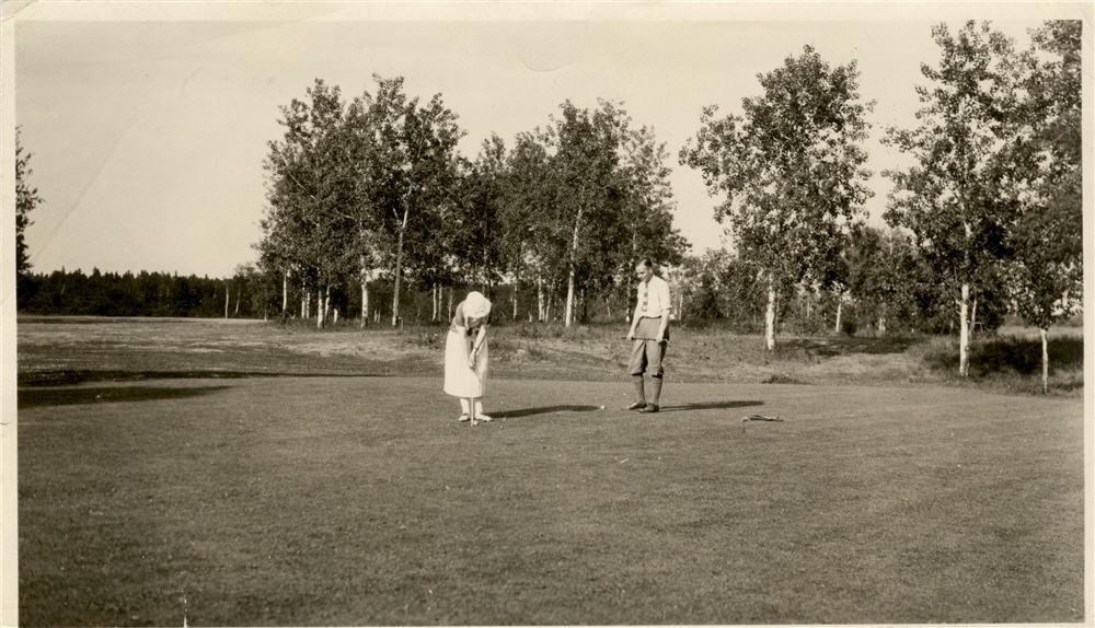 Golf historie