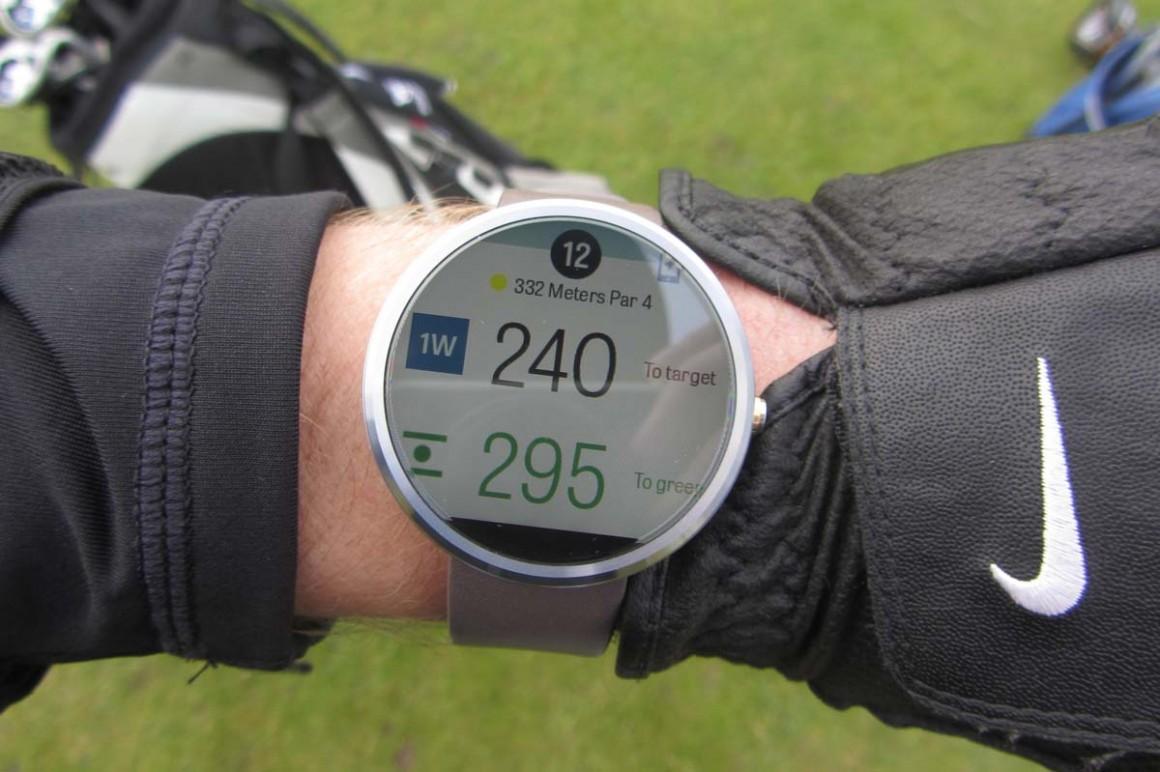 Golfshot Android wear