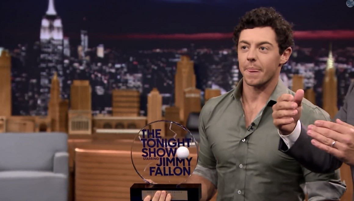 Mcilroy tonight show