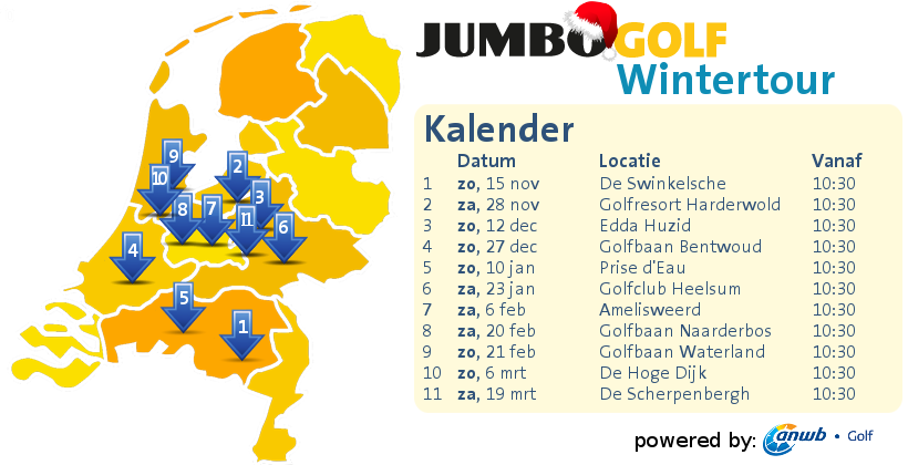 Jumbo Golf Wintertour