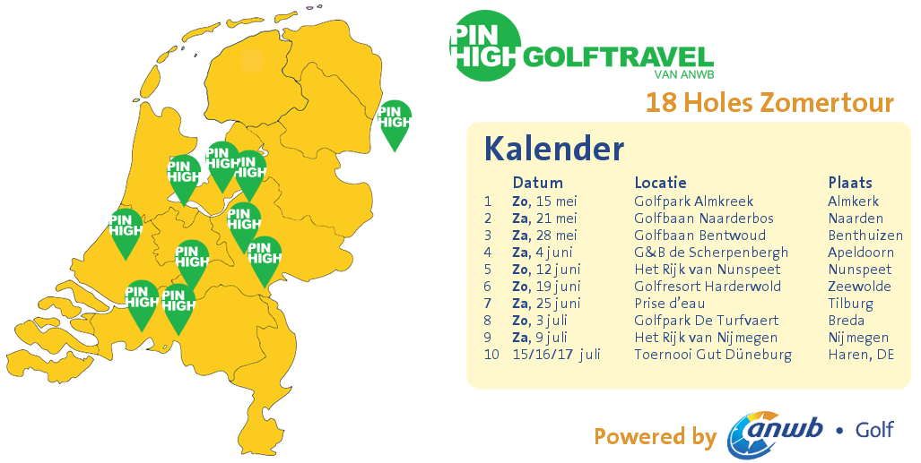 Pin High Zomertour final